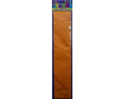 Бумага крепированная 30088 светло-оранжевая
