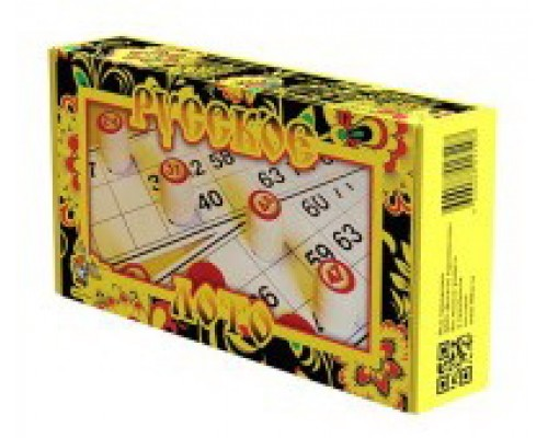 Русское лото желтая коробка 01729