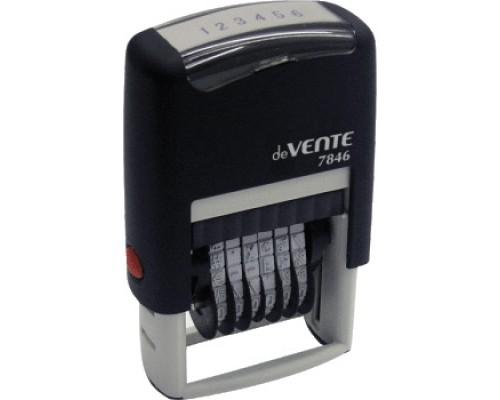 Нумератор автоматический deVENTE 6-ти разрядный 4 мм.