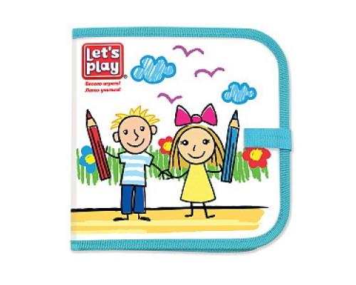 Коврик-книжка для рисования водными мелками. TM Let`s Play