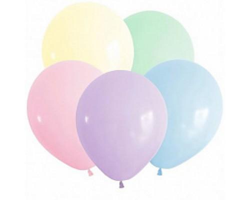Воздушные шары Alingar №12 цвета пастель 1шт.