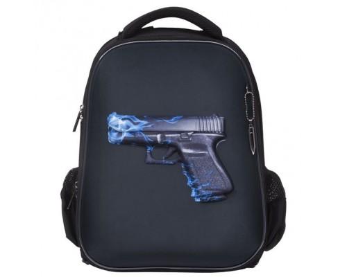 Рюкзак ERGONOMIC Classic Fire gun для мальчика, начальная школа